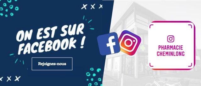 suivez nous sur facebook et instagram