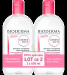 Acheter CREALINE TS H2O Solution micellaire sans parfum nettoyante apaisante 2Fl/500ml à Mérignac