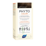 Acheter Phytocolor Kit coloration permanente 6.77 Marron clair cappuccino à Mérignac