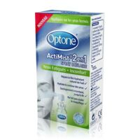 Optone Actimist Spray Oculaire Yeux Fatigués + Inconfort Fl/10ml à Mérignac