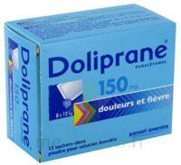 Doliprane 150 Mg Poudre Pour Solution Buvable En Sachet-dose B/12 à Mérignac
