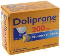 Doliprane 200 Mg Poudre Pour Solution Buvable En Sachet-dose B/12 à Mérignac