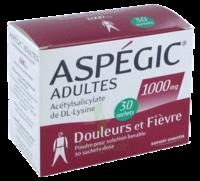 Aspegic Adultes 1000 Mg, Poudre Pour Solution Buvable En Sachet-dose 30 à Mérignac