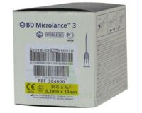 BD MICROLANCE 3, G30 1/2, 0,30 mm x 13 mm, jaune  à Mérignac