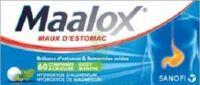 MAALOX HYDROXYDE D'ALUMINIUM/HYDROXYDE DE MAGNESIUM 400 mg/400 mg Cpr à croquer maux d'estomac Plq/60 à Mérignac