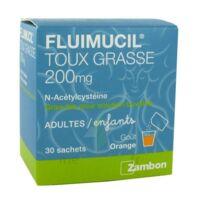 Fluimucil Expectorant Acetylcysteine 200 Mg Sans Sucre, Granulés Pour Solution Buvable En Sachet édulcorés à L'aspartam Et Au Sorbitol à Mérignac