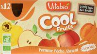 VITABIO Cool Fruits Pomme Pêche Abricot à Mérignac