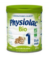 Physiolac Lait Bio 1er Age à Mérignac