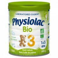 Physiolac Lait Bio 3eme Age 900g à Mérignac