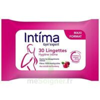 Intima Gyn'expert Lingettes Cranberry Paquet/30 à Mérignac