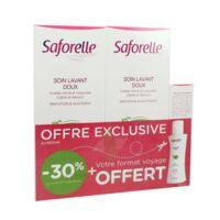 Saforelle Solution Soin Lavant Doux 2*500ml+100ml à Mérignac