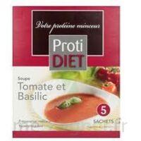 Protidiet - Soupe Tomate-Basilic Boîte de B/5 à Mérignac