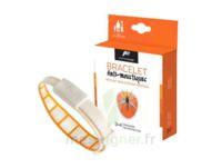 Pharmavoyage Bracelet Répulsif Origine Végétale Anti-moustique Orange à Mérignac