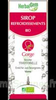 Herbalgem Sirop Bio Refroidissement 150ml à Mérignac