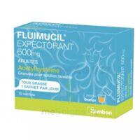 Fluimucil Expectorant Acetylcysteine 600 Mg Glé S Buv Adultes 10sach à Mérignac