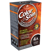 COLOR&SOIN Kit coloration permanente 4A marron glacé à Mérignac