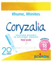 Boiron Coryzalia Solution Buvable Unidose B/20 à Mérignac
