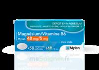 Magnesium/vitamine B6 Mylan 48 Mg/5 Mg, Comprimé Pelliculé à Mérignac