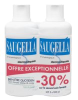Saugella Emulsion Dermoliquide Lavante 2fl/500ml à Mérignac