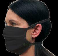Masque réutilisable 10 lavages (UNS1) noir à Mérignac